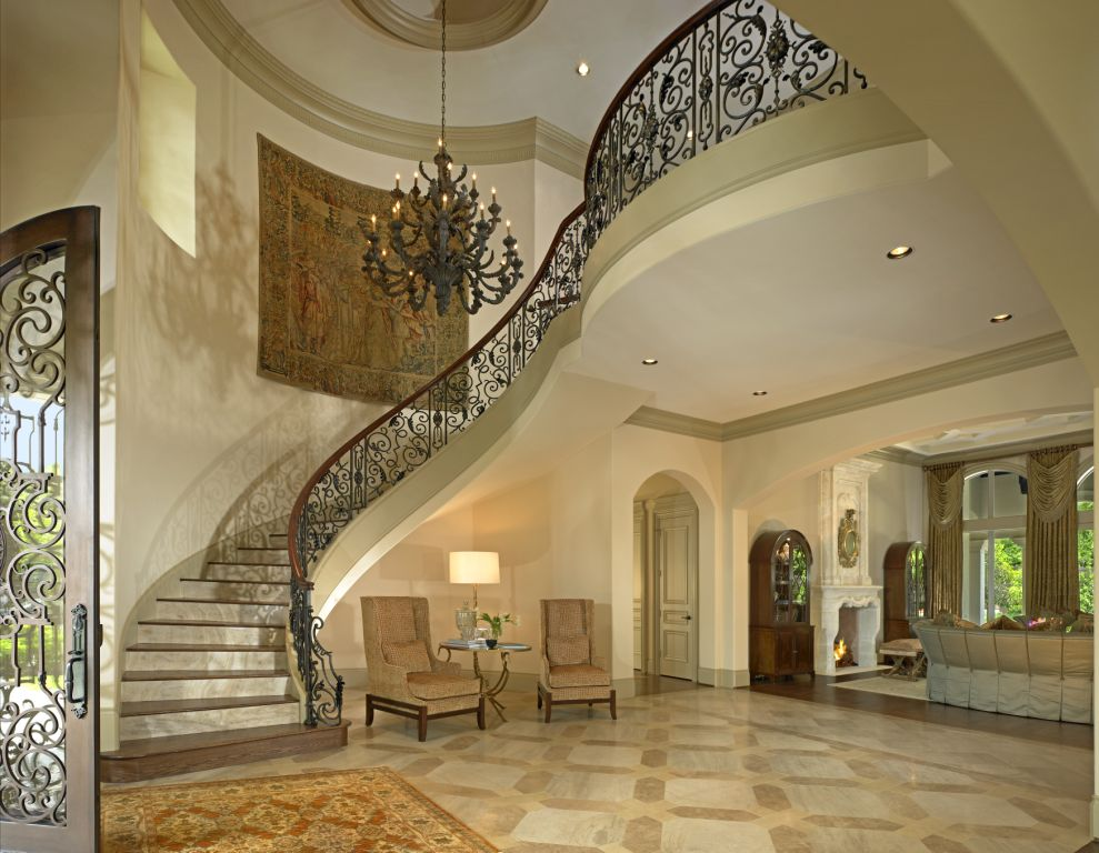 Elegant Foyer Quotes : Bordeaux regency railings